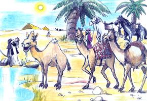 Mία φορά κι έναν καιρό, κάπου στη μακρινή Αραβία, σε ένα καραβάνι, ζούσε η Μύλα, μία μικρή καμήλα. Από την ώρα που γεννήθηκε θαύμαζε πάρα πολύ τα άλογα του καραβανιού για την ομορφιά τους, την κορμοστασιά τους...